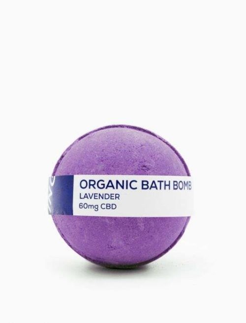 CBD Living CBD Bath Bomb 60mg – Lavender Fragrance
