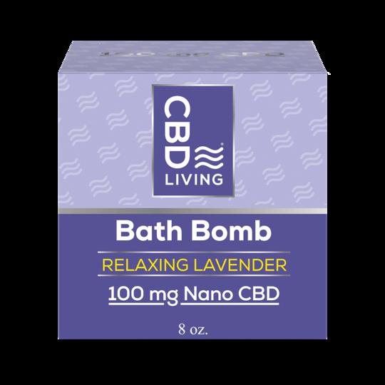 CBD Living Lavender Bath Bomb