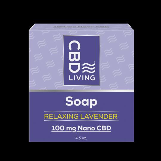 CBD Living Lavender Soap