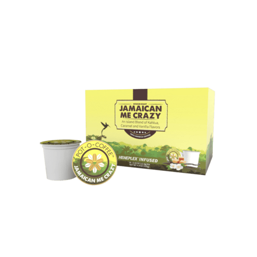 Pot-O-Coffee Jamaican Me Crazy Hemp Blend K-Cups
