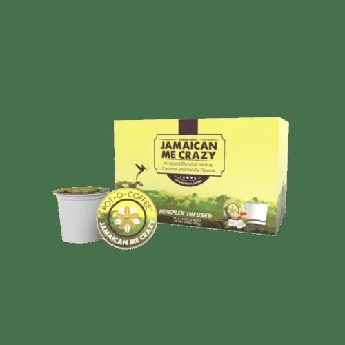 Pot-O-Coffee Jamaican Me Crazy Hemp Blend K-Cups