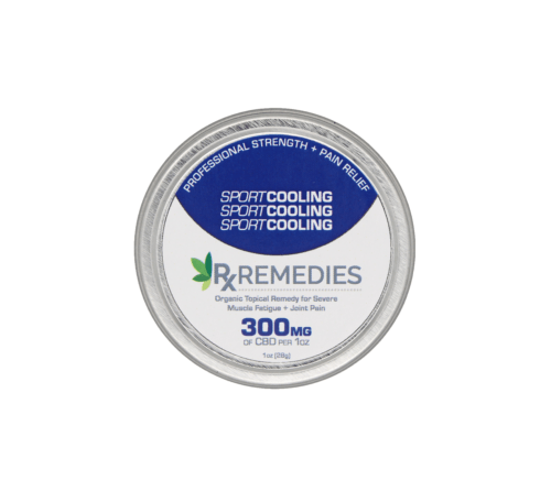 RX Remedies CBD Cooling Balm 300mg