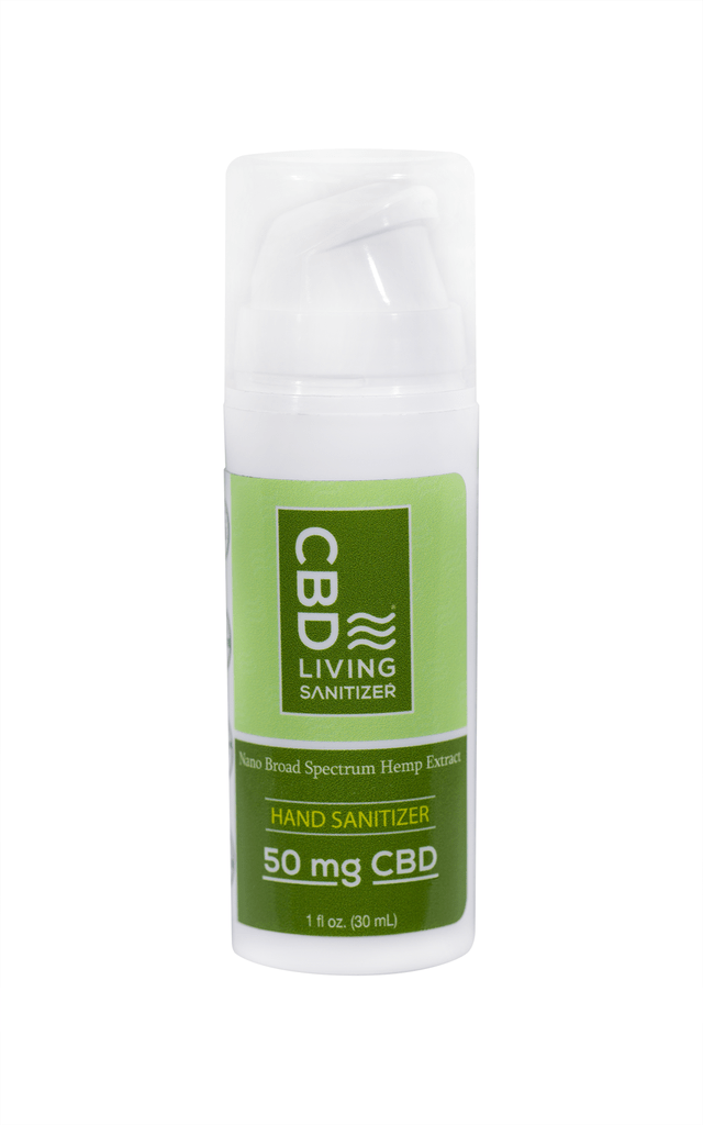 CBD Living 50mg CBD Hand Sanitizer