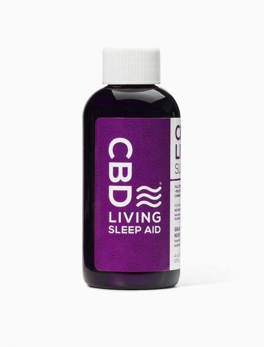 CBD Living CBD Sleep Aid Grape Flavor