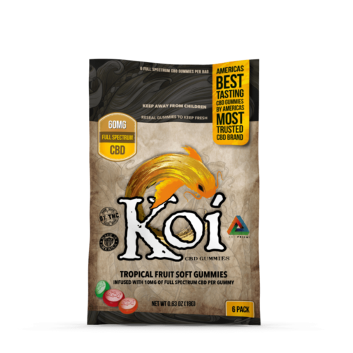 Koi CBD Gummies 6 Pack