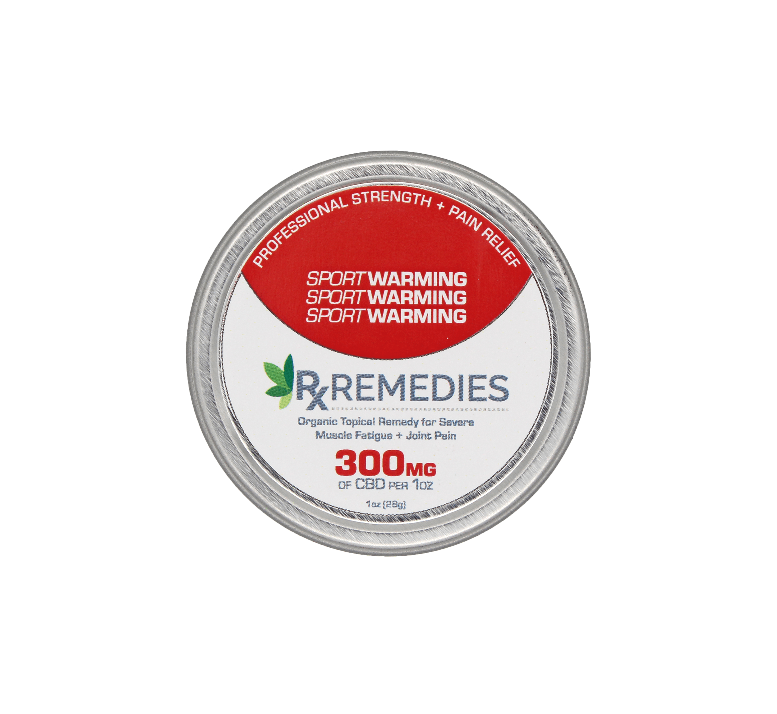 Rx Remedies CBD Warming Balm 300mgs of CBD