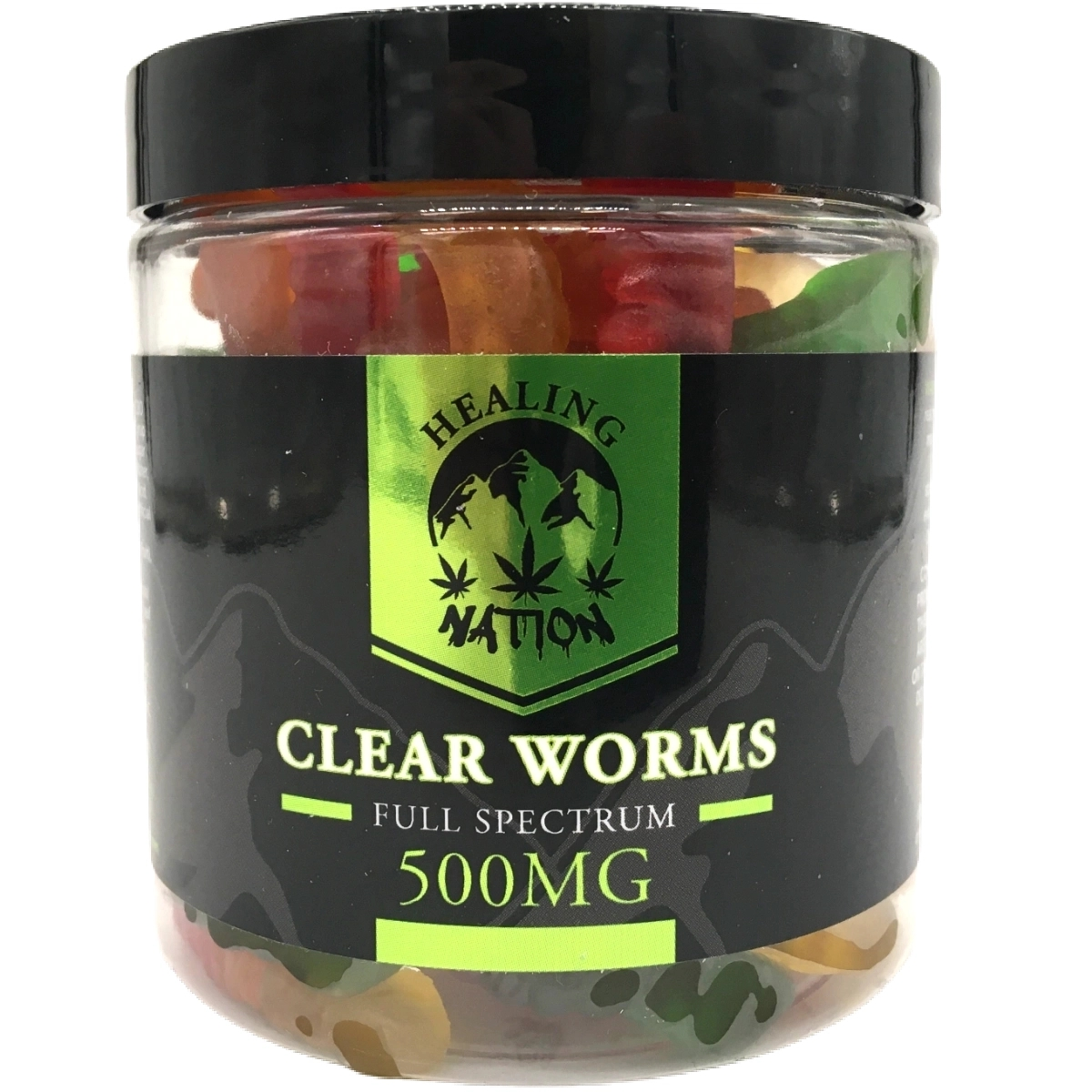 Healing Nation 500mg Gummy Worms