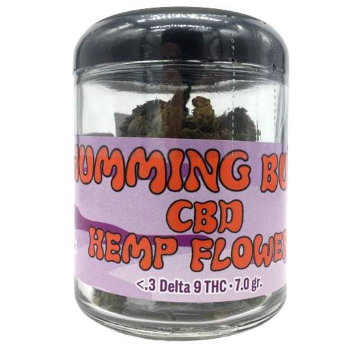 Humming Buds Purple Lifter Hemp Flower