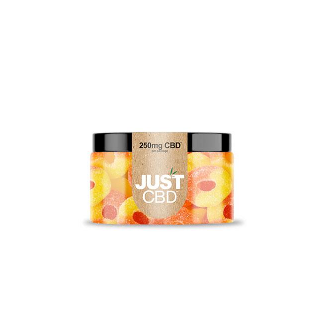 Just CBD 250mg Peach Rings