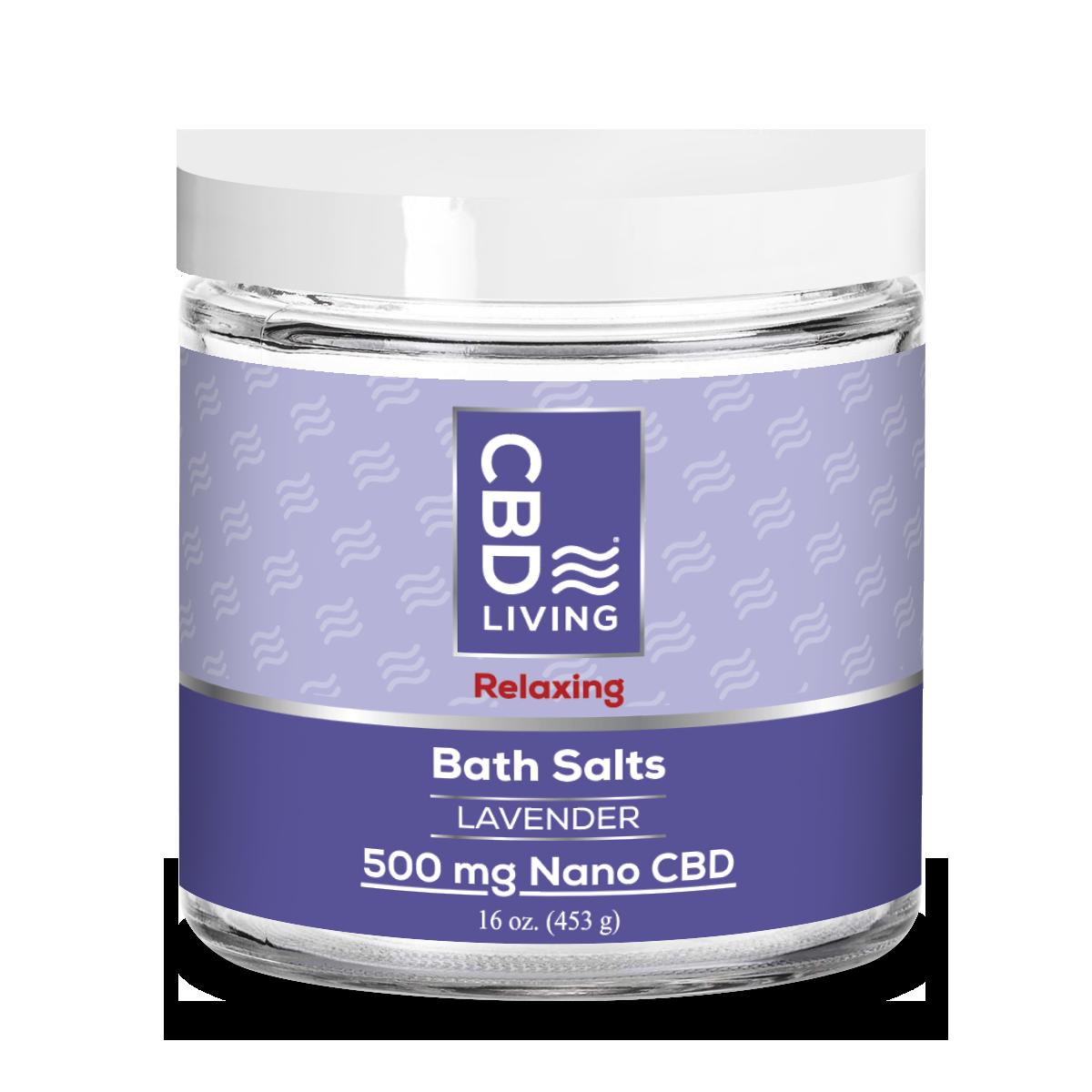 CBD Living Lavender Bath Salts