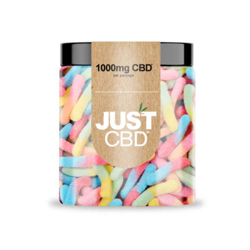 Just CBD 1,000mg Sour Worms