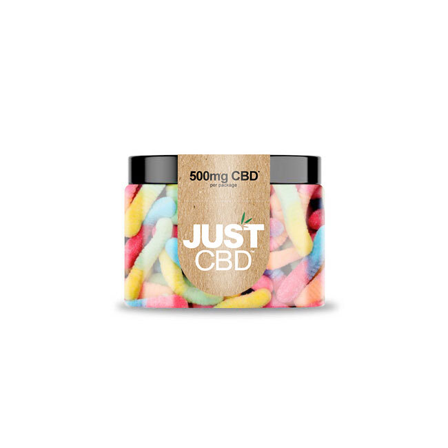 Just CBD 500mg Sour Worms