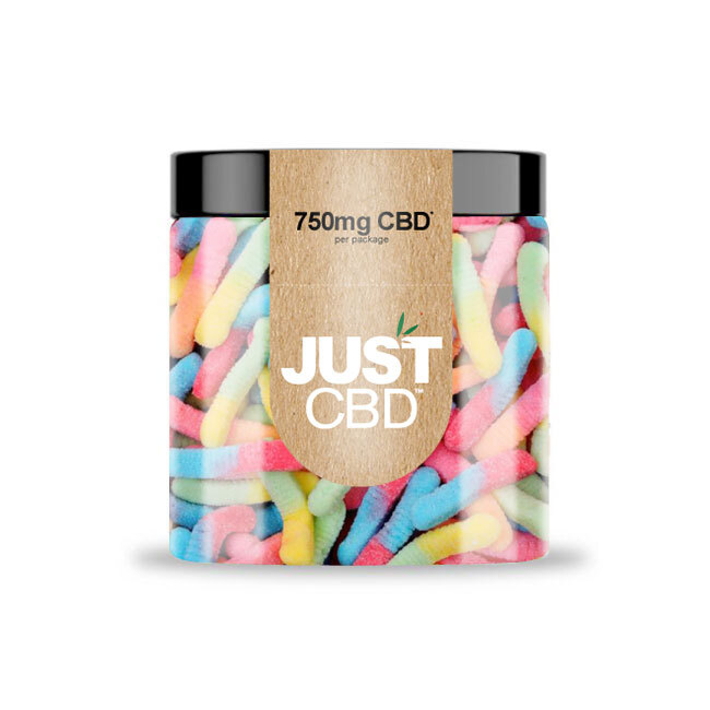 Just CBD 750mg Sour Worms